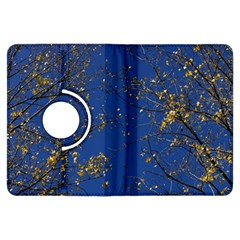 Poplar Foliage Yellow Sky Blue Kindle Fire Hdx Flip 360 Case