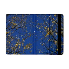 Poplar Foliage Yellow Sky Blue Ipad Mini 2 Flip Cases