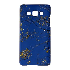 Poplar Foliage Yellow Sky Blue Samsung Galaxy A5 Hardshell Case