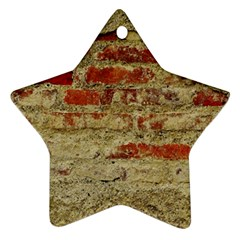 Wall Plaster Background Facade Ornament (Star)
