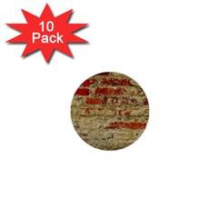 Wall Plaster Background Facade 1  Mini Buttons (10 Pack)