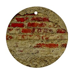 Wall Plaster Background Facade Round Ornament (two Sides)