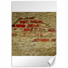 Wall Plaster Background Facade Canvas 12  X 18