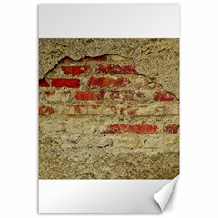Wall Plaster Background Facade Canvas 24  X 36