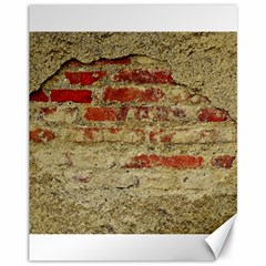 Wall Plaster Background Facade Canvas 11  X 14