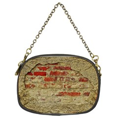 Wall Plaster Background Facade Chain Purses (two Sides)