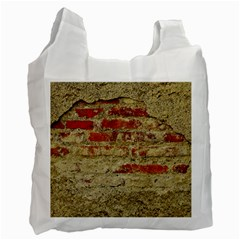 Wall Plaster Background Facade Recycle Bag (Two Side)