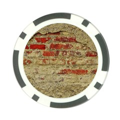 Wall Plaster Background Facade Poker Chip Card Guards (10 Pack)