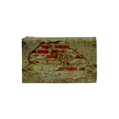 Wall Plaster Background Facade Cosmetic Bag (small)