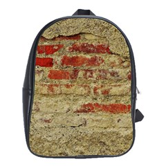 Wall Plaster Background Facade School Bags(large)