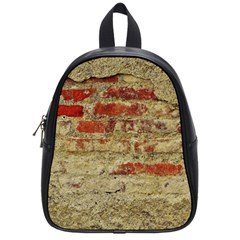 Wall Plaster Background Facade School Bags (small)