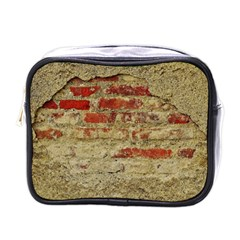 Wall Plaster Background Facade Mini Toiletries Bags