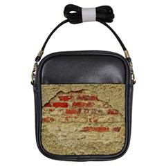 Wall Plaster Background Facade Girls Sling Bags