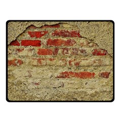 Wall Plaster Background Facade Fleece Blanket (small)