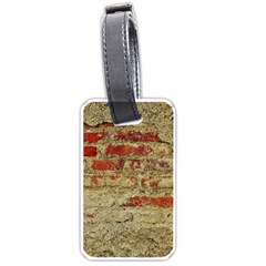 Wall Plaster Background Facade Luggage Tags (one Side)