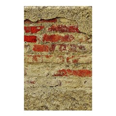 Wall Plaster Background Facade Shower Curtain 48  X 72  (small)