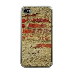 Wall Plaster Background Facade Apple Iphone 4 Case (clear)
