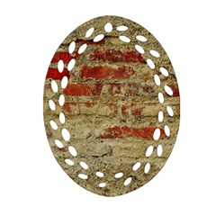 Wall Plaster Background Facade Ornament (oval Filigree)