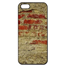 Wall Plaster Background Facade Apple Iphone 5 Seamless Case (black)