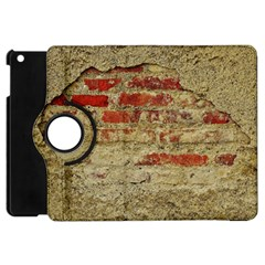 Wall Plaster Background Facade Apple Ipad Mini Flip 360 Case