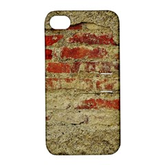 Wall Plaster Background Facade Apple Iphone 4/4s Hardshell Case With Stand