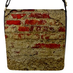 Wall Plaster Background Facade Flap Messenger Bag (s)