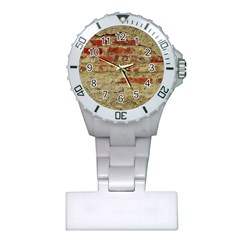 Wall Plaster Background Facade Plastic Nurses Watch