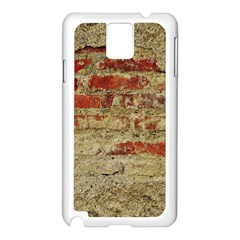 Wall Plaster Background Facade Samsung Galaxy Note 3 N9005 Case (white)