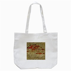 Wall Plaster Background Facade Tote Bag (white)