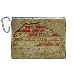 Wall Plaster Background Facade Canvas Cosmetic Bag (xl)
