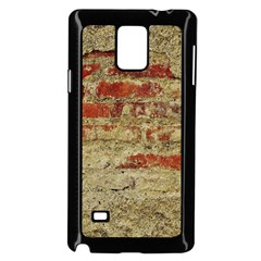 Wall Plaster Background Facade Samsung Galaxy Note 4 Case (black)