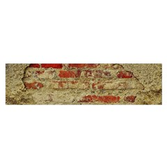 Wall Plaster Background Facade Satin Scarf (oblong)