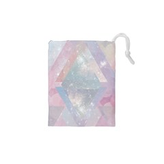 Colorful pastel crystal Drawstring Pouches (XS)