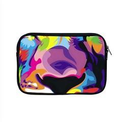 Colorful Lion s Face  Apple Macbook Pro 15  Zipper Case