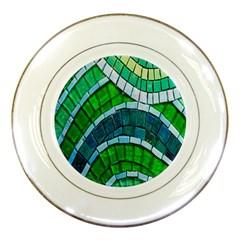 Green Porcelain Plates