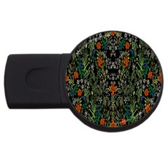 Detail Of The Collection s Floral Pattern Usb Flash Drive Round (2 Gb)