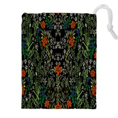 Detail Of The Collection s Floral Pattern Drawstring Pouches (XXL)