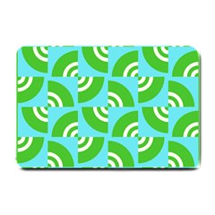Easy Peasy Lime Squeezy Green Small Doormat