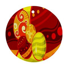 Easter Egg Circle Ornament (round)