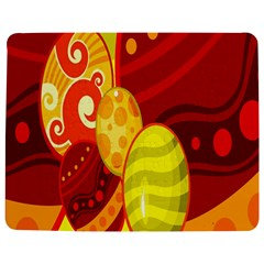 Easter Egg Circle Jigsaw Puzzle Photo Stand (Rectangular)