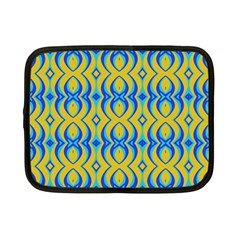 Blue Yellow Netbook Case (small)