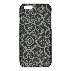 Flower Batik Gray iPhone 6/6S TPU Case