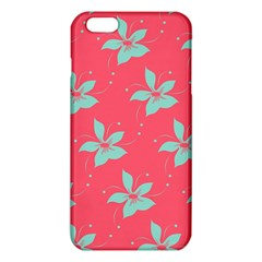 Flower Green Red iPhone 6 Plus/6S Plus TPU Case