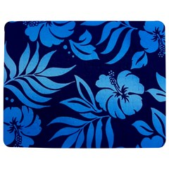 Flower Blue Jigsaw Puzzle Photo Stand (Rectangular)