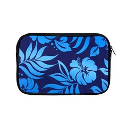 Flower Blue Apple Macbook Pro 13  Zipper Case