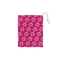 Flower Roses Drawstring Pouches (XS)