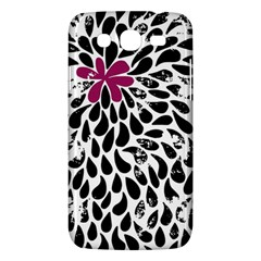 Flower Simple Pink Samsung Galaxy Mega 5 8 I9152 Hardshell Case