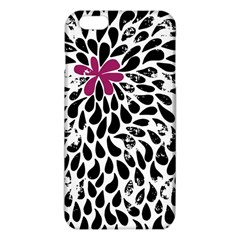 Flower Simple Pink iPhone 6 Plus/6S Plus TPU Case