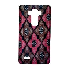Flower Pink Gray LG G4 Hardshell Case