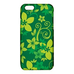 Flower Yellow Green iPhone 6/6S TPU Case